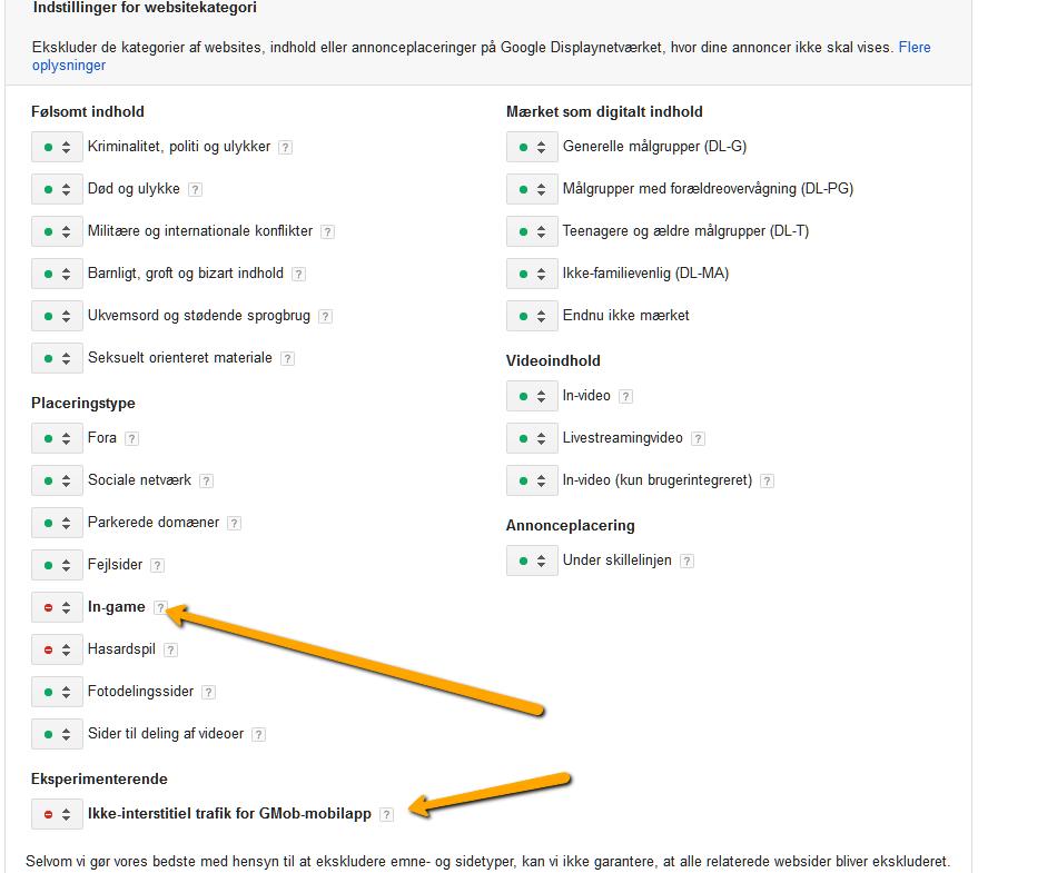 adwords-apps-webstedkategori