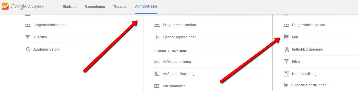 mål-google-analytics