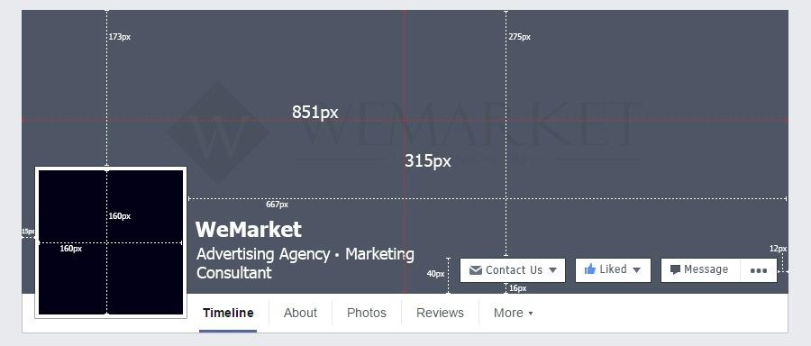 Facebook billedstørrelse - cover billede