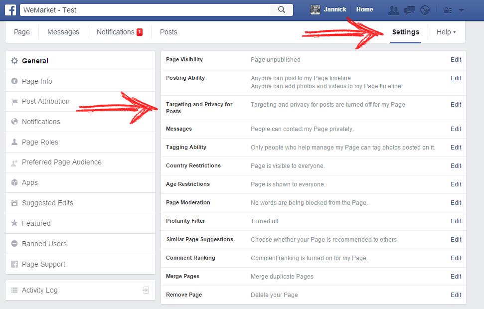 organisk reach facebook - målretning