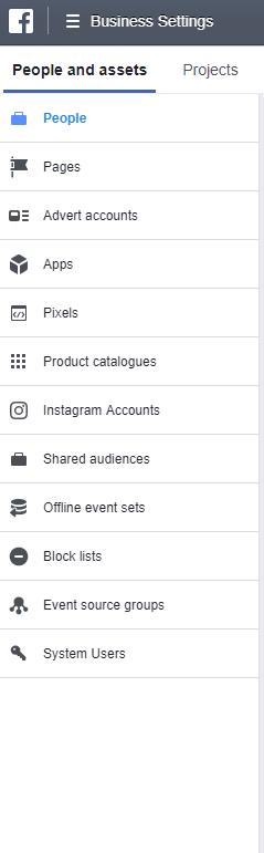 facebook_business_manager_menu_struktur