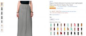 Amazon produkt side visning med mange billeder - eksempel