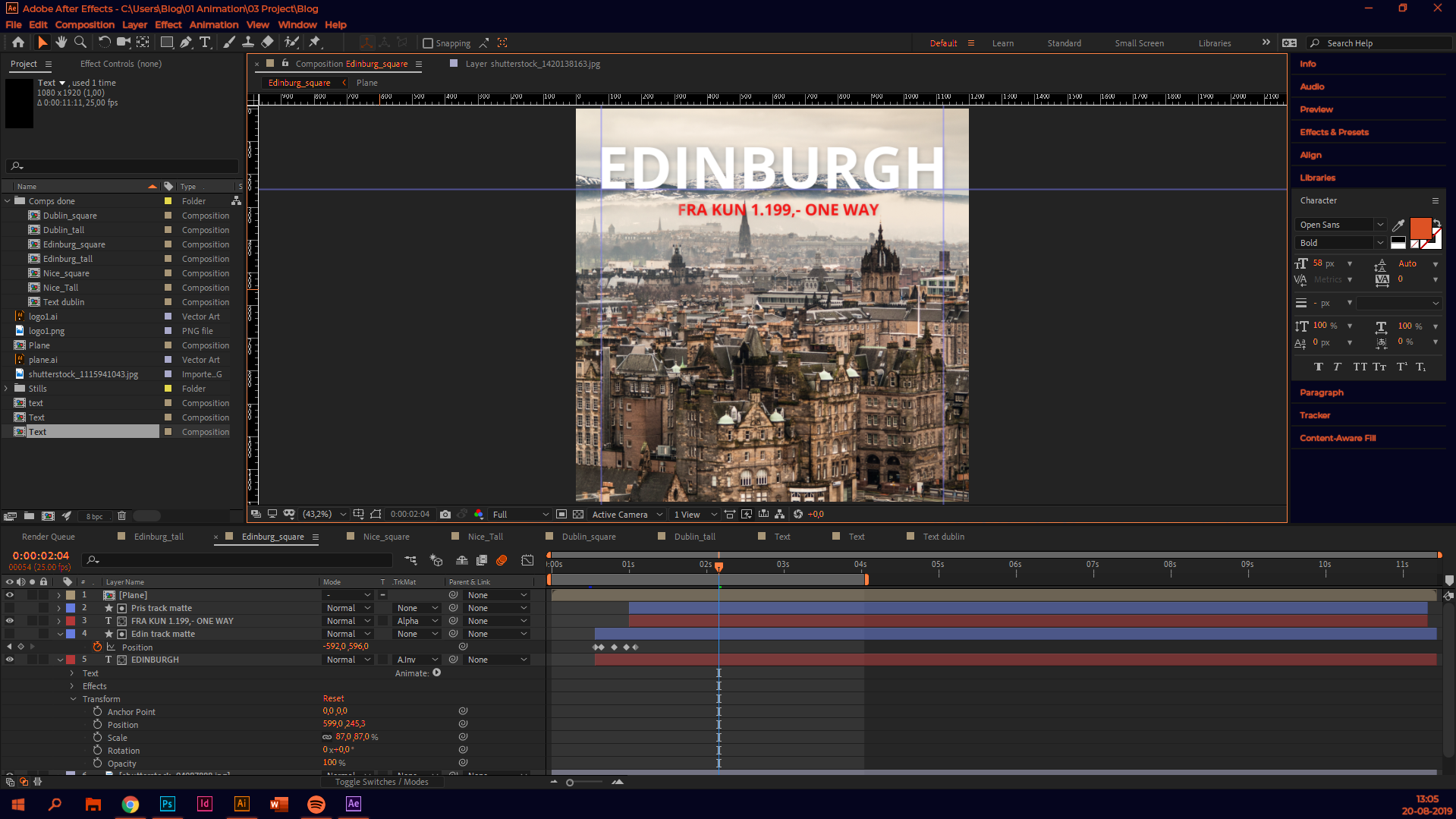 Adobe After Effects WeMarket style