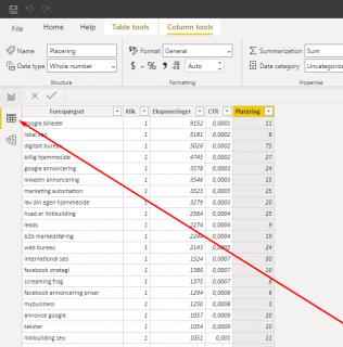 Billede der viser hvor du rydder op i dine data